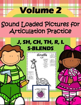 Sound Loaded Pictures Volume 2 ***J, SH, CH, TH, R, L, S-B