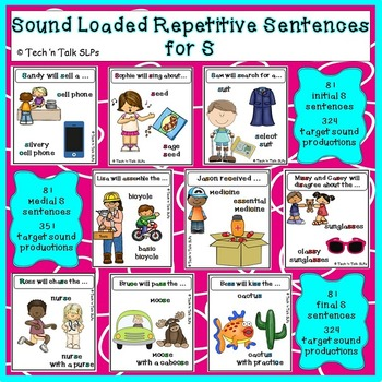 Sound-Loaded Repetitive Sentences for S