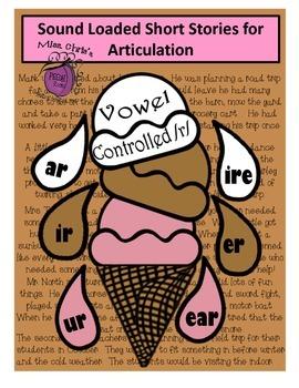 Sound Loaded Short Stories for Articulation {Vowel Control