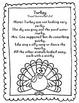Sound Loaded Thanksgiving Rhymes/Poems Silly SPEECH Therapy Fun for the Holiday