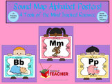 Sound Map Alphabet Posters - A Tools of the Mind Inspired Resource