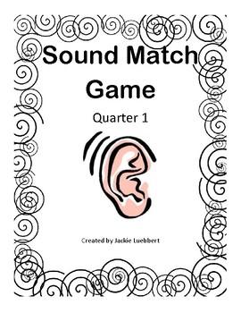 Sound Match Game