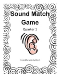 Sound Match Game