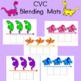 Blending Word  Mats CVC Dinosaur Theme
