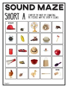 Sound Maze Short Vowels