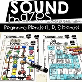 Sound Mazes (Beginning Blends) | Phonics | Word Work | Games | Activities | RTI