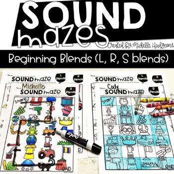 Sound Mazes (Beginning Blends) | Phonics | Word Work | Games | Activities | RTI