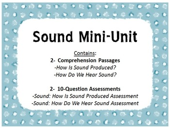 Sound Mini-Unit