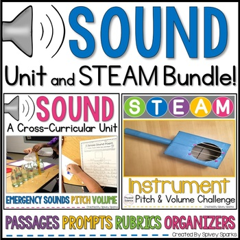 Sound Cross-Curricular Unit (NGSS 1-PS4-1)