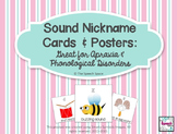 Sound Nickname Cards: Great for Phonological Disorders & Apraxia