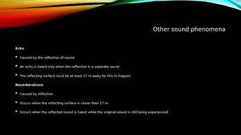 Sound Notes on PowerPoint