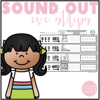Sound Out CVC Strips