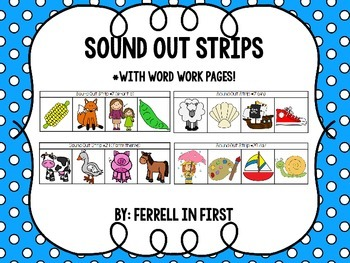 Sound Out Strips: Word Work