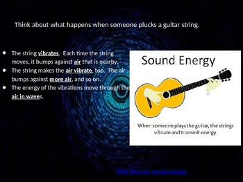 Sound POWERPOINT 4th Grade Science