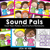 Vowel Team Posters, Words Sorts and Worksheets - Sound Pals