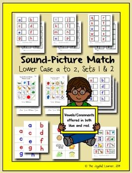 Sound-Picture Match, Sets 1 & 2