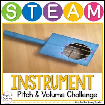 Sound Instrument STEAM & STEM NGSS 1-PS4-1