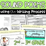 Sound Poems - A Poetry Writing Unit with Interactive Noteb