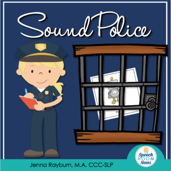 Sound Police: Community Helper Lift the Flap Game