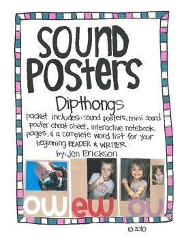 Sound Posters:  Dipthongs