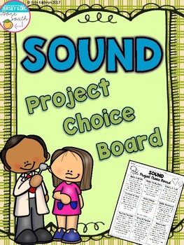 Sound Project Choice Board