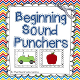 Sound Punchers - Beginning Sound Hole Punch Cards (Great f