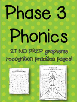 Sound Recognition - 27 NO PREP Activity Pages - Phonics - Letters and Sounds!