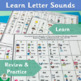 Letters and Sounds Charts support Jolly Phonics | SASSOON Font