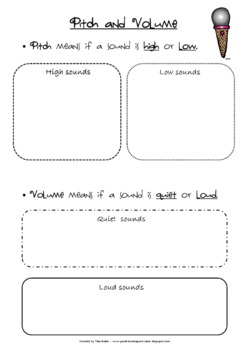 sound rocks science activities printables and worksheets tpt. Black Bedroom Furniture Sets. Home Design Ideas