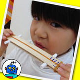 Sound Sandwich Noise Maker - Musical Instrument Science Project for kids