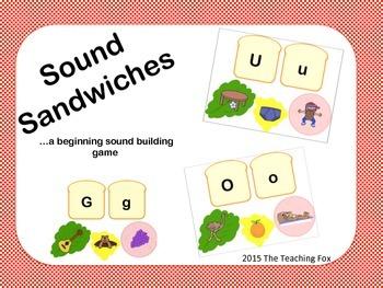 Beginning Sound Sandwiches