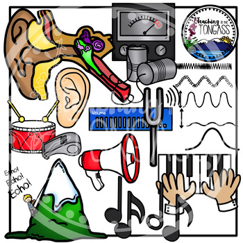 Sound Clip Art (Sound Science Clipart)