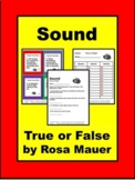 Sound and Sound Waves Task Cards and Worksheet activity
