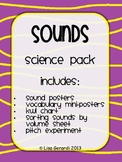 Sound Science Unit - Posters, Vocabulary, Sorting Activity