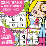 Alphabet Games {Print and Play Phonics Game}