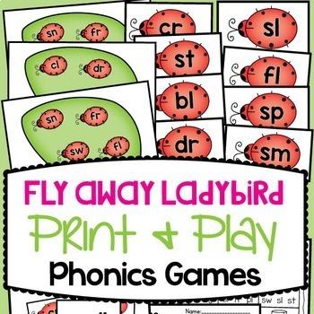 Phonics Games Bundle - Sound Set {12 Card Games}