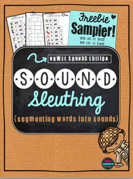 Sound Sleuthing Vowel Sounds {Freebie Sampler}