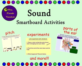 Sound Smartboard Lessons and Activities