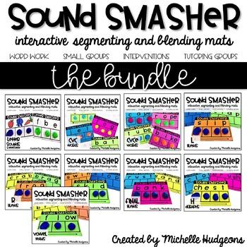 Segmenting and Blending Mats   Sound Smasher BUNDLE