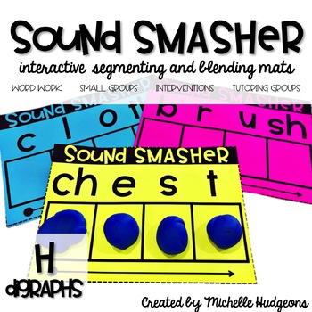 Segmenting and Blending Mats | Sound Smasher H DIGRAPHS