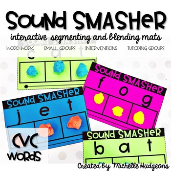 Segmenting and Blending Mats | Sound Smasher CVC