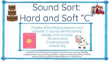 "Sound Sort: Hard and Soft ""C"""