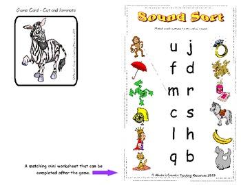 Sound Sort {Initial Sound Game}