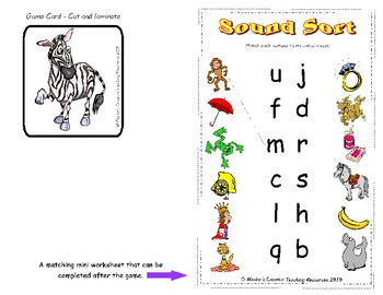 Sound Sort {Initial Sound Game}