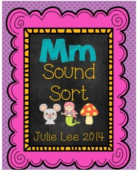 Sound Sort Letter Mm Free