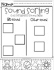 Sound Sorting Letters A-Z (Phonics)