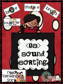 Sound Sorting (Long E/Short E/Long A/ER); Verb Tenses