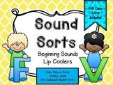 Sound Sorts: Beginning Sounds Set Four: Lip Coolers F&V