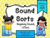 Sound Sorts: Beginning Sounds Set Nine: Lifters L&R