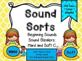 Sound Sorts: Beginning Sounds Set Ten: Sound Stealers Hard C & Soft C